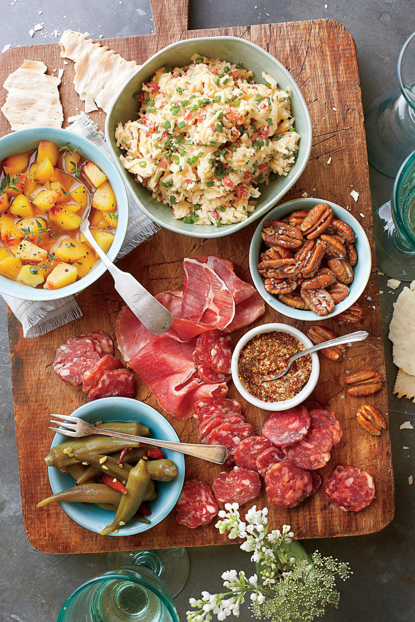 No cook appetizer and salad recipes southern living for No cook appetizers for thanksgiving