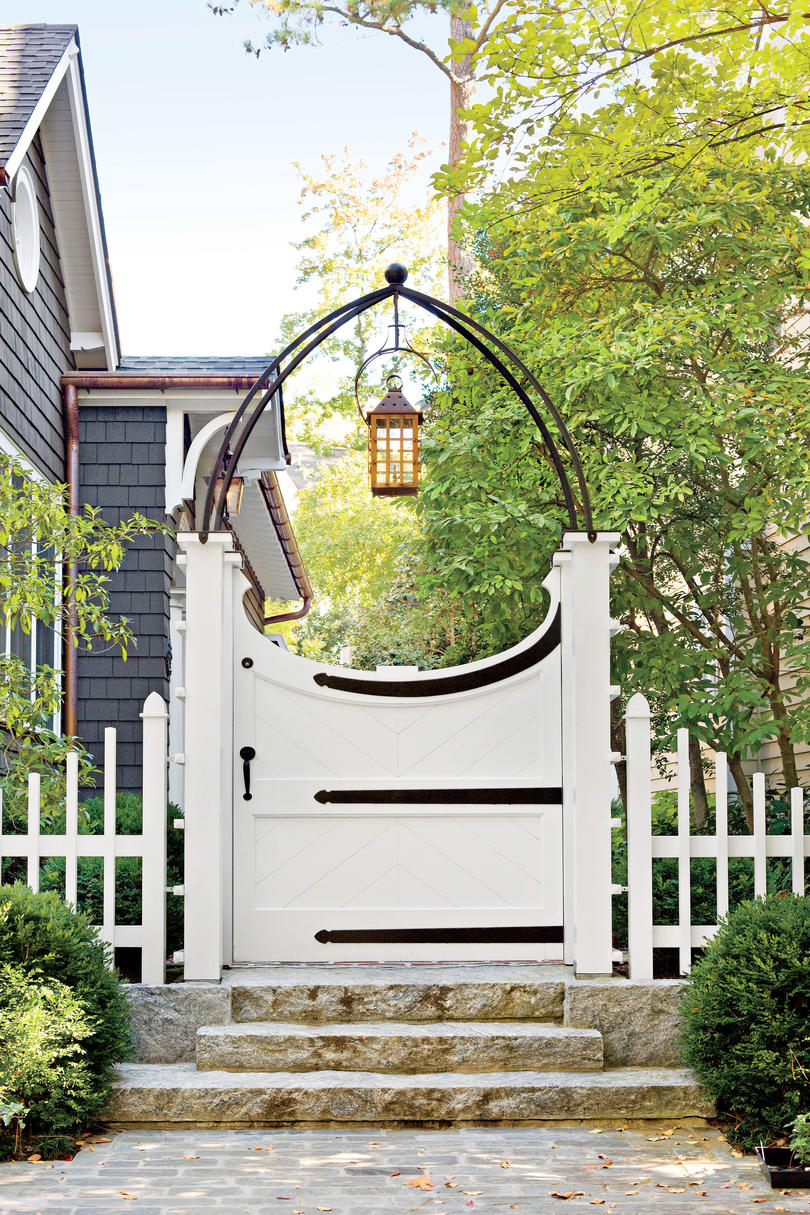 Gothic Arch Gate & Choose the Perfect Garden Gate - Southern Living