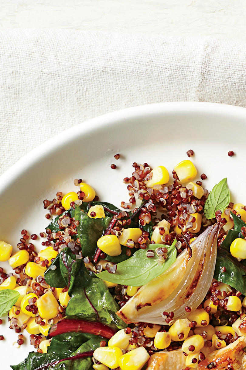 Fresh Corn Quinoa