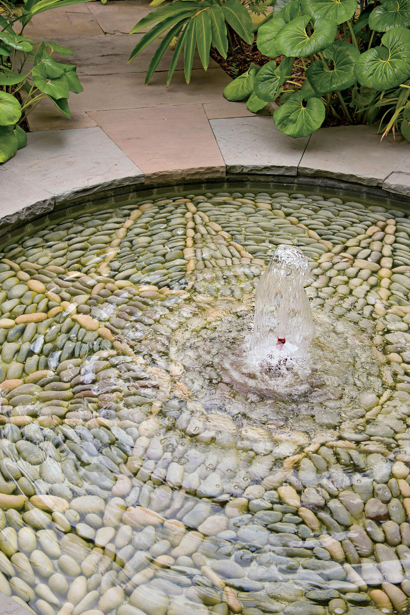 Notice the Details: Mosaic Fountain