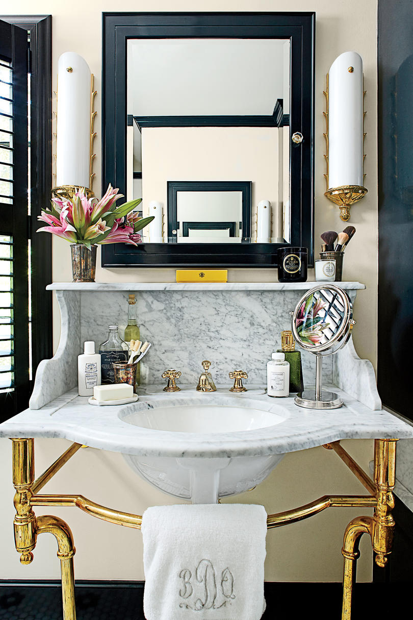 What She Did | Master Bath
