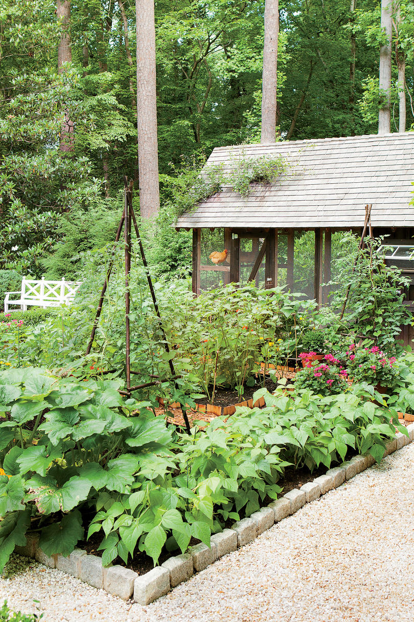 Dream Garden It Even Has A Chicken Coop Southern Living
