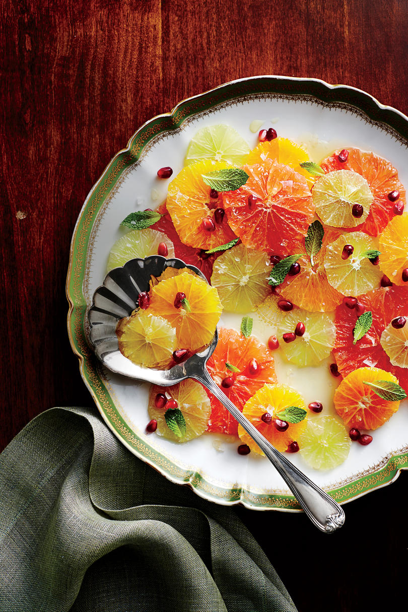 Citrus Salad with Spiced Honey