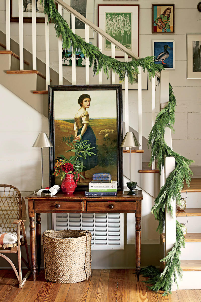 After: Charming Farmhouse Stairway