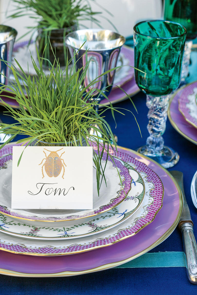 Wheatgrass Place Cards