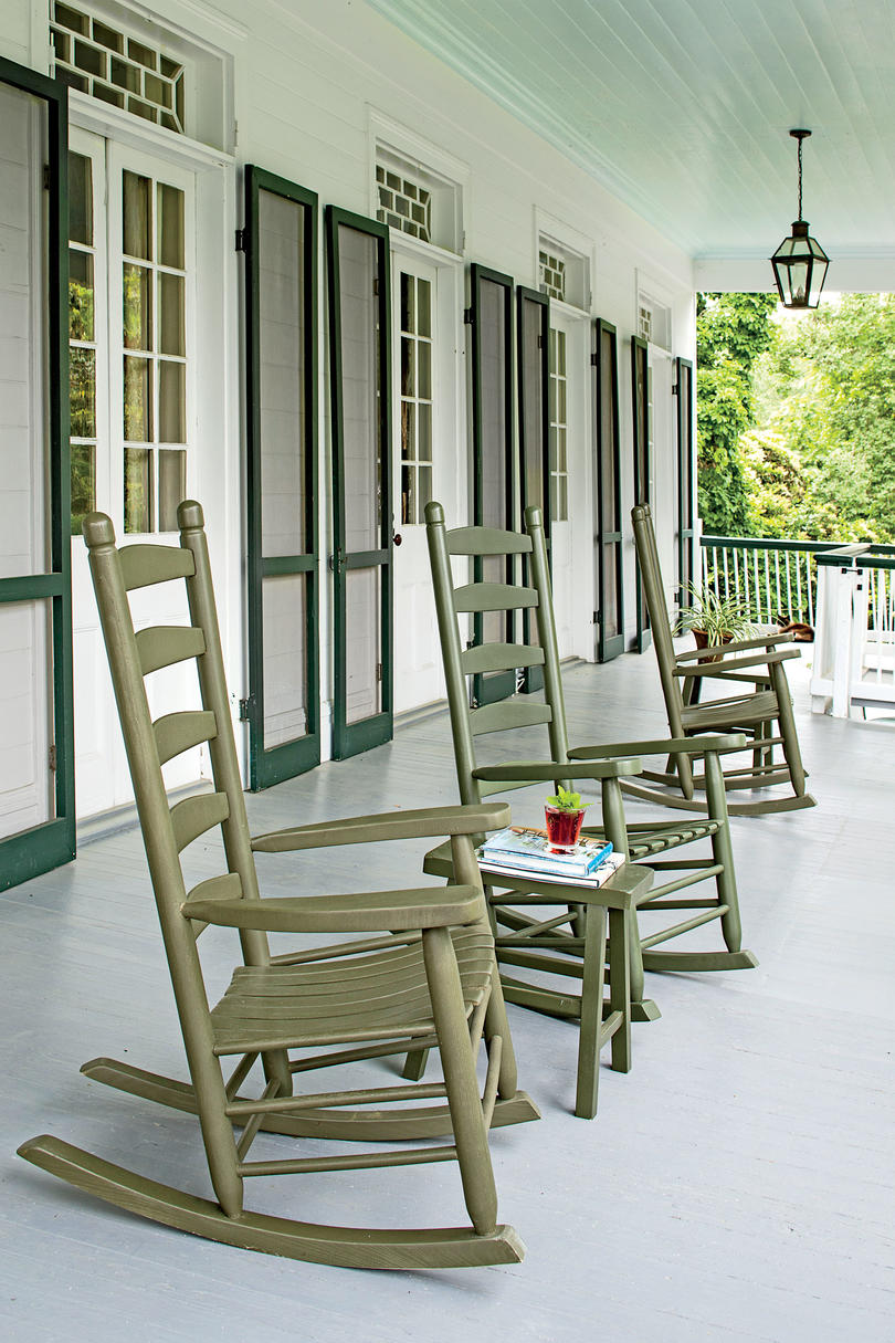 The LeJeune House Porch