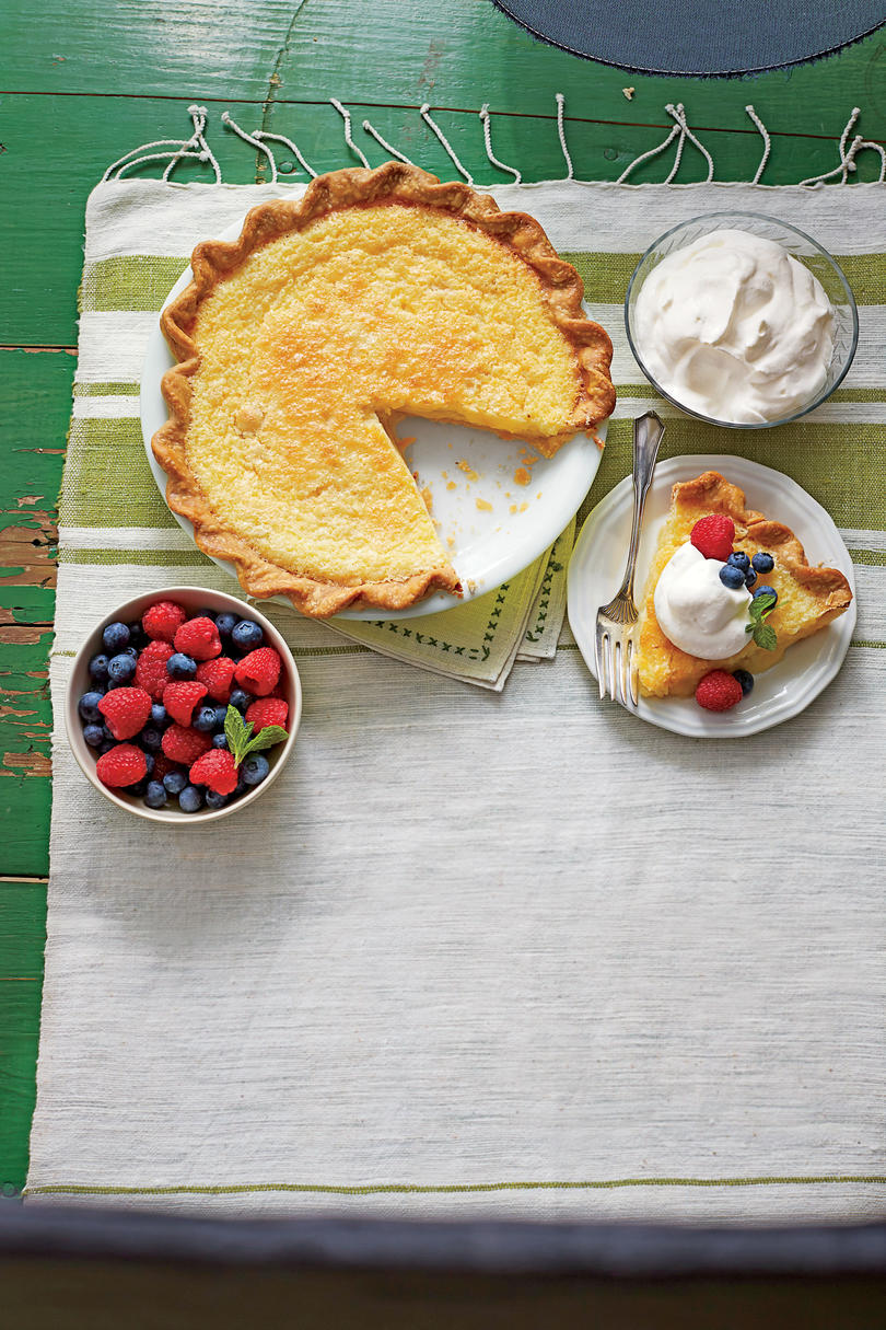 Classic Buttermilk Pie Recipe