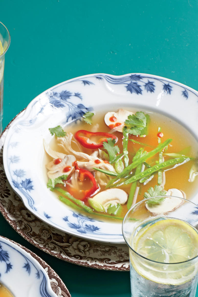 Lemongrass-Turkey Soup Recipe