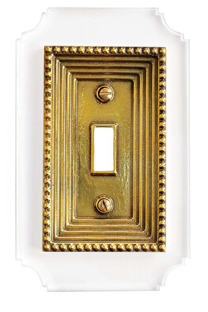 Reprotique Georgian Single Switch Plate