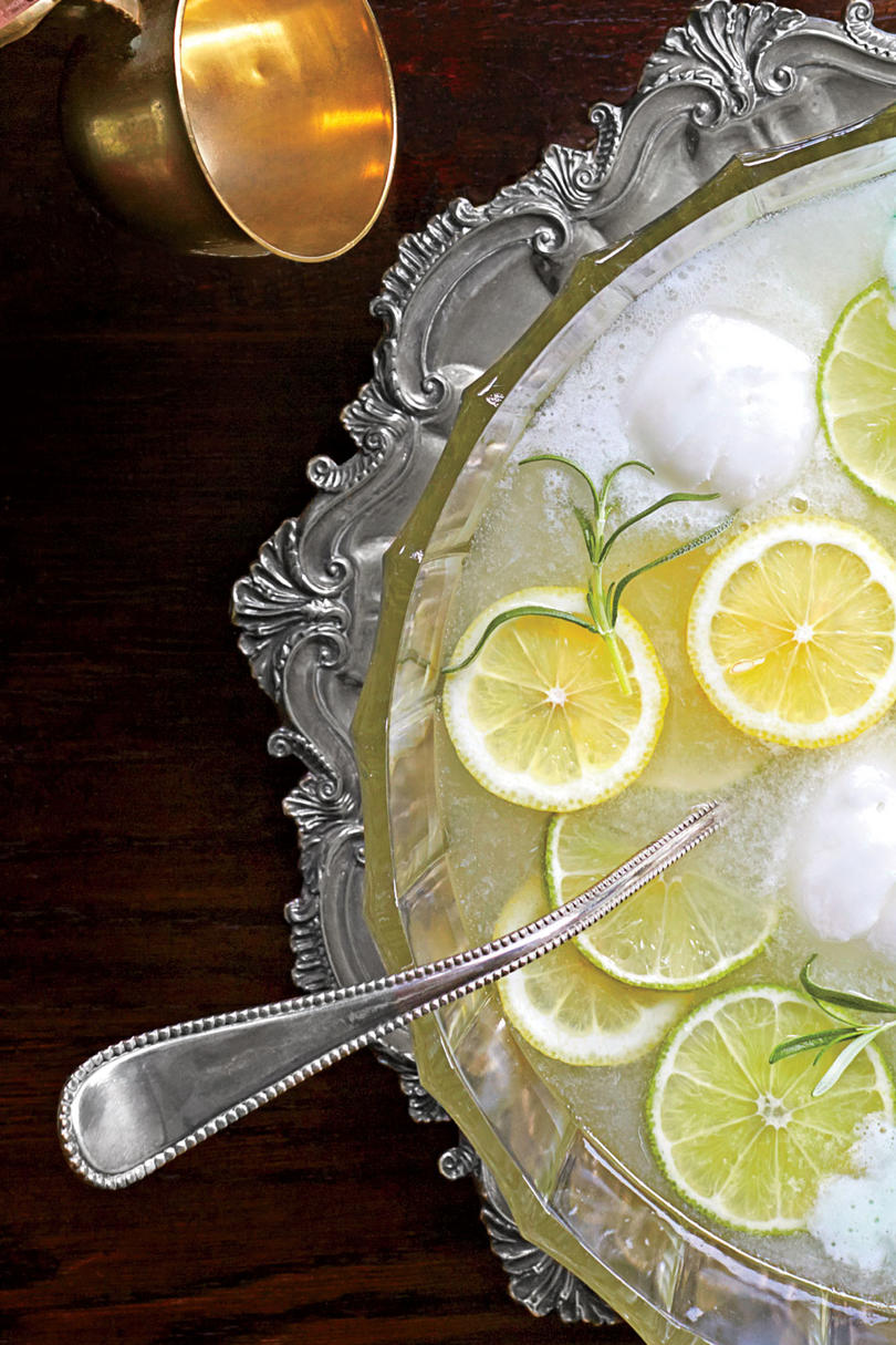 Lemon-Lime Rosemary Punch