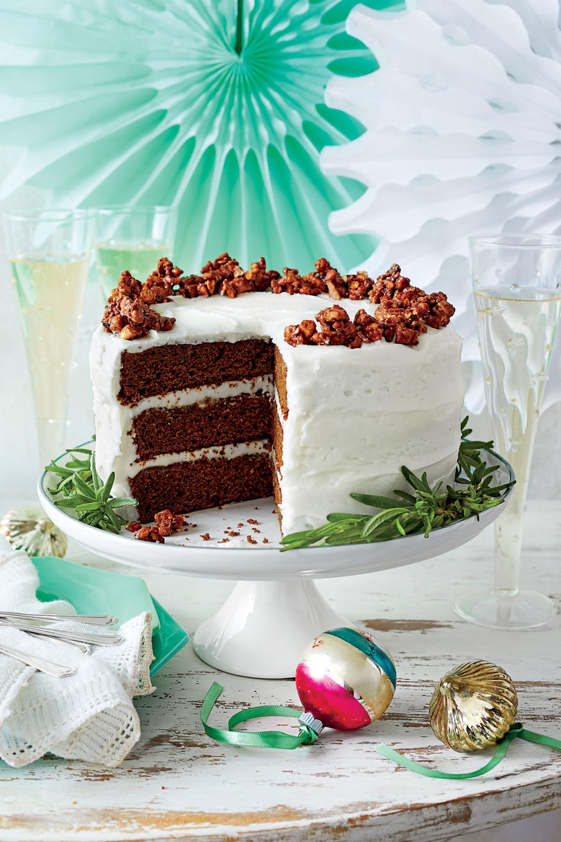 Gingerbread Cake with Buttermilk Frosting