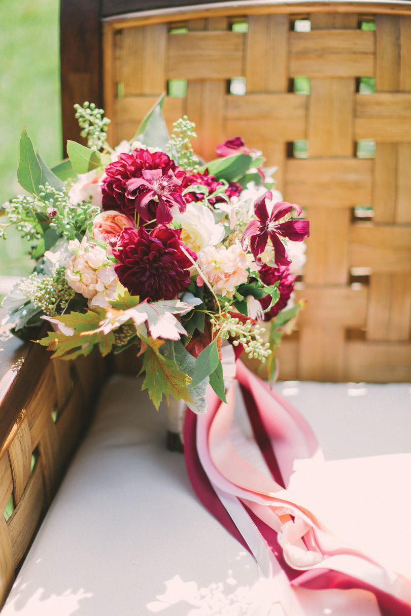 Pink Burgundy Bouquet