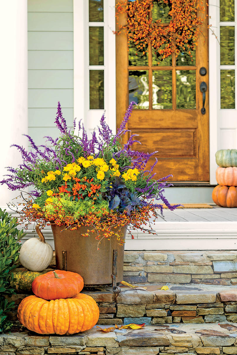 All Fired Up Fall Container Gardening Ideas