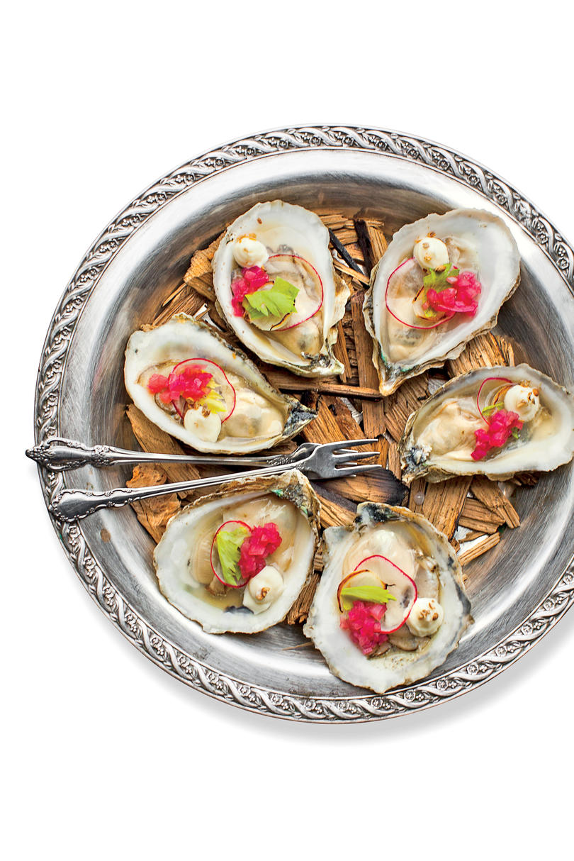 No. 7 Smoked Oysters Julep