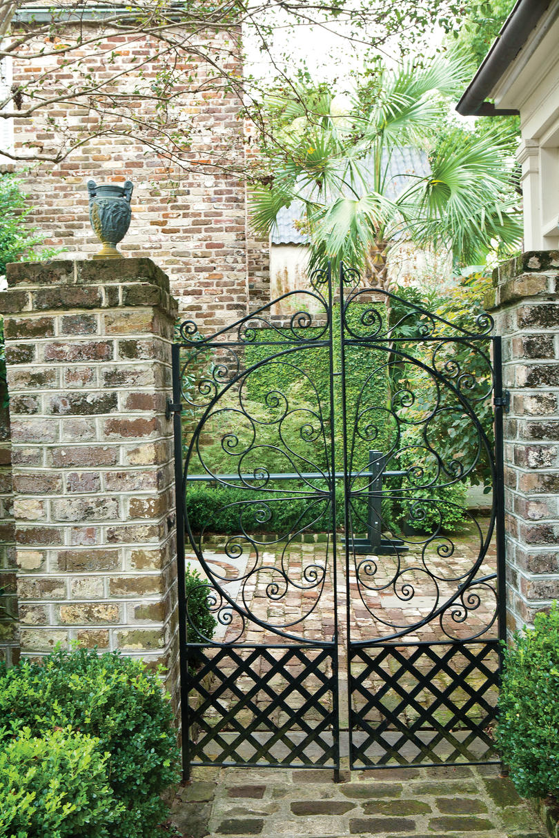 Handcrafted Steel Gate