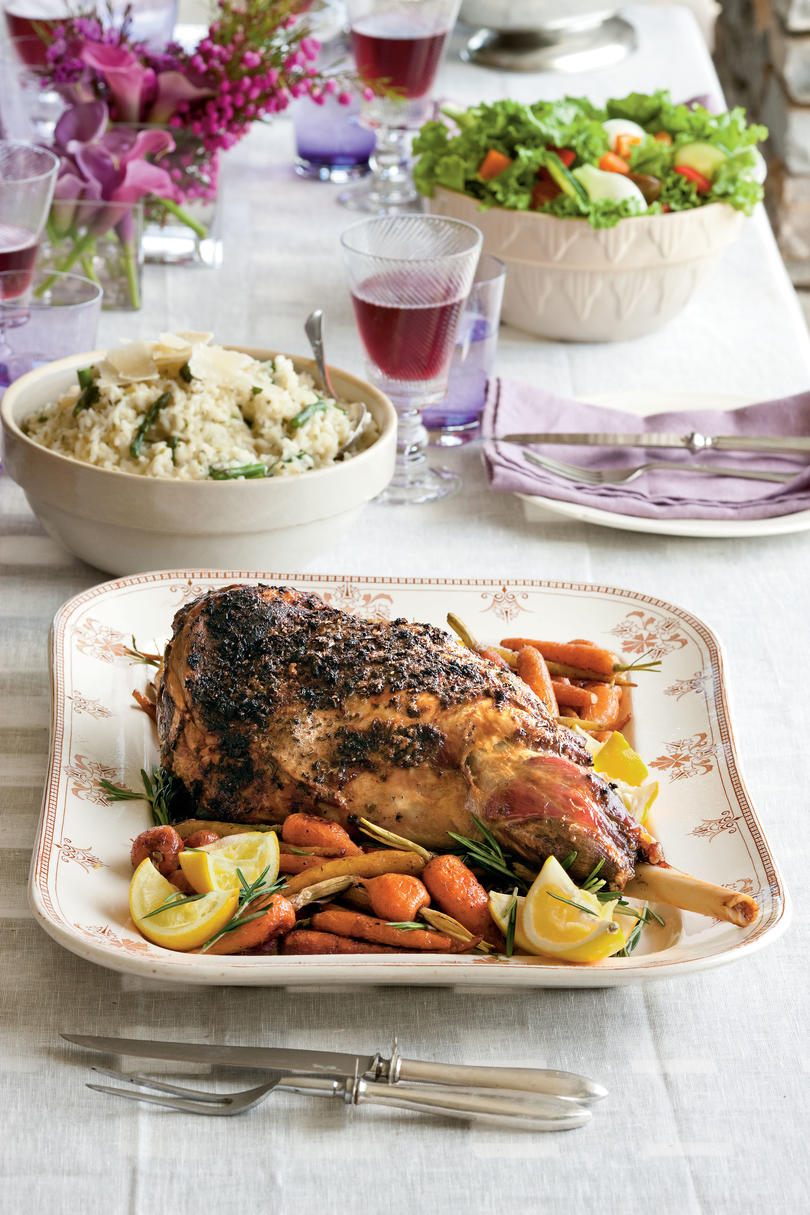 Rosemary Roast Lamb