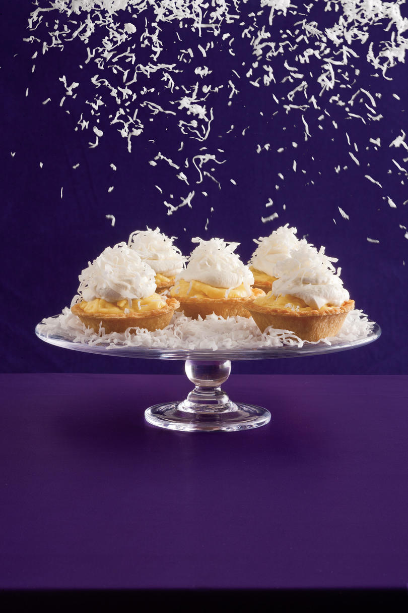 Coconut Cream Tarts