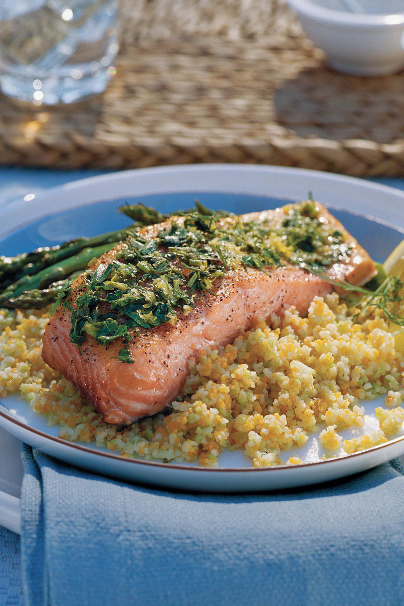 Lemon-Grilled Salmon Recipes