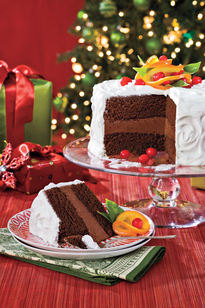 Christmas Dessert Recipes: Chocolate-Citrus Cake