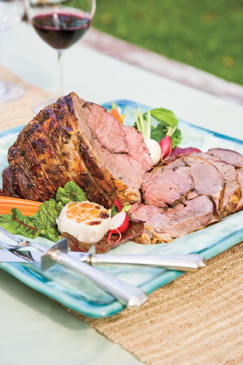 Cat Cora's Greek Easter Recipe Ideas: Roasted Lamb