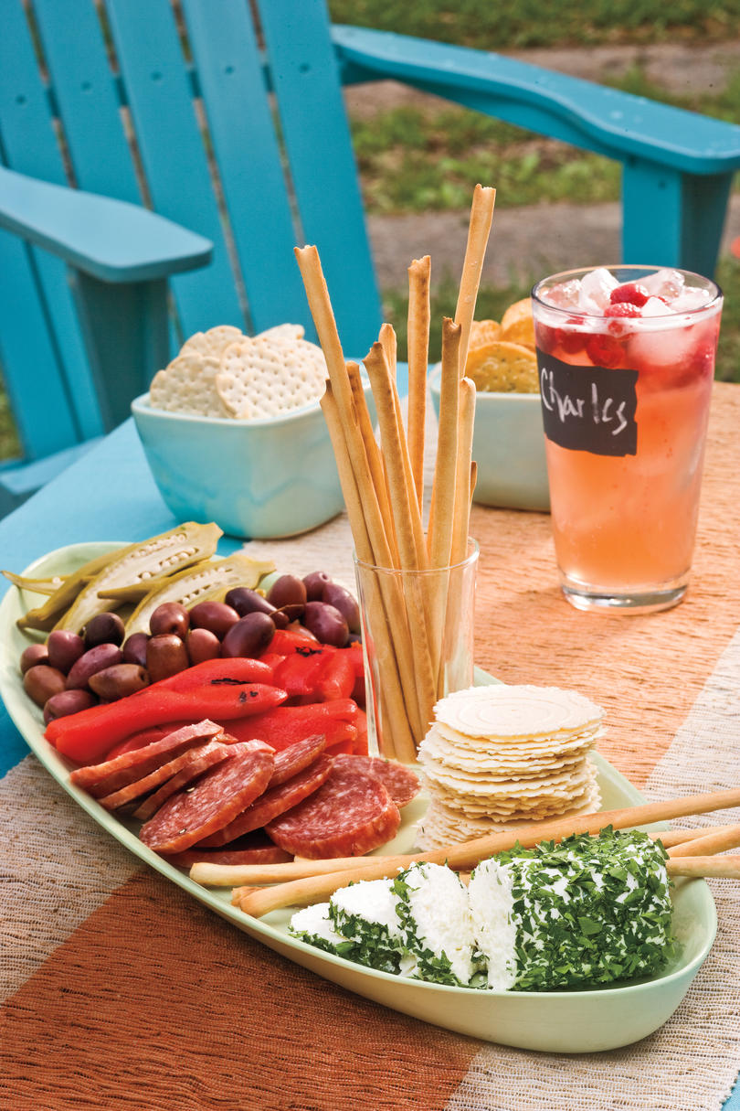 Outdoor appetizer recipe ideas southern living for Appetizers to make at home