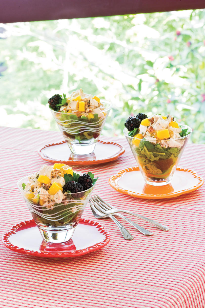 Wedding Shower Recipe Ideas: Party Chicken Salad