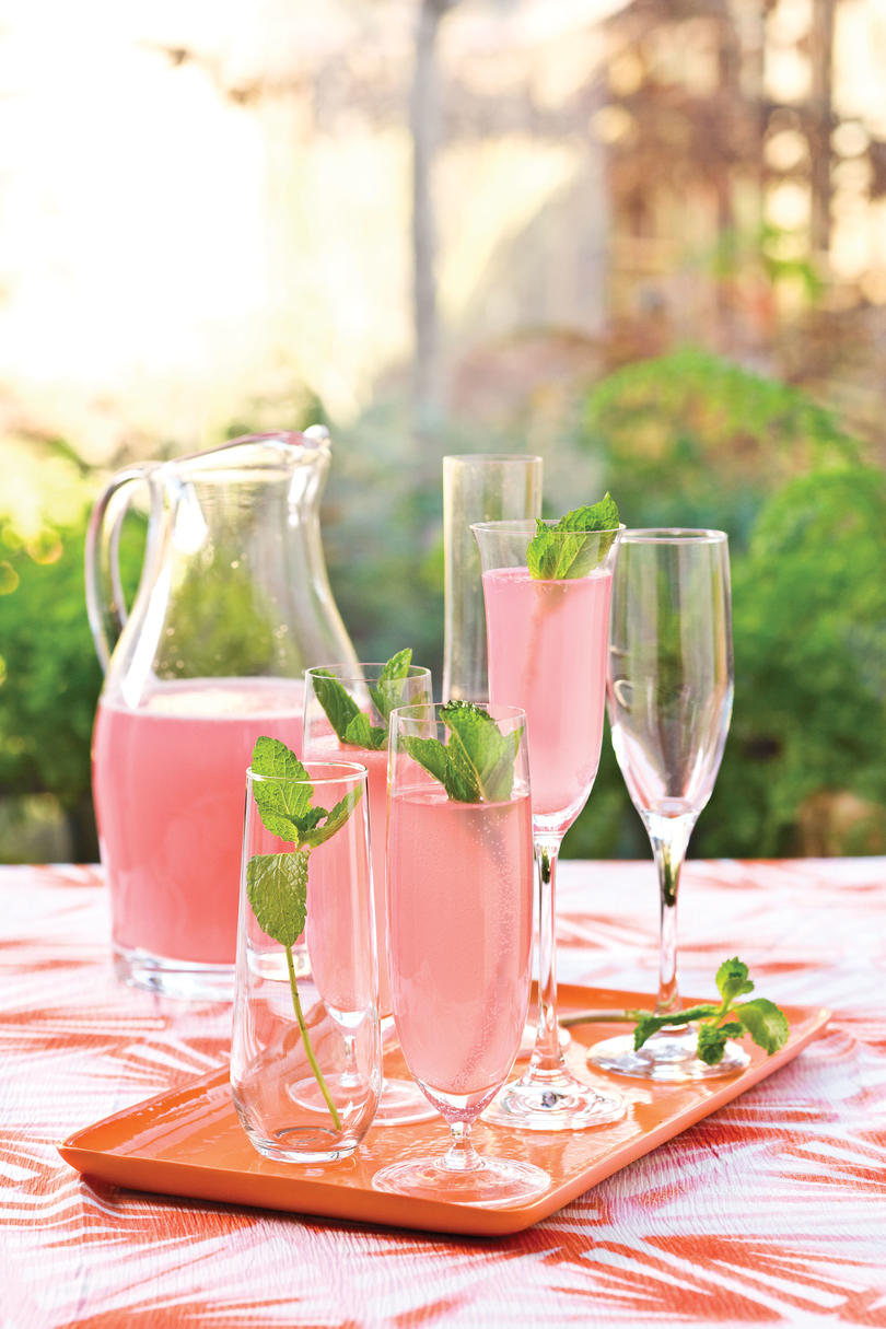 Wedding shower recipe ideas southern living wedding shower recipe ideas sparkling punch junglespirit Image collections