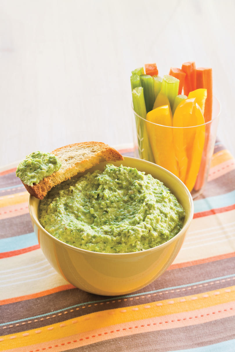 Healthy Food Recipe: Asparagus Pesto