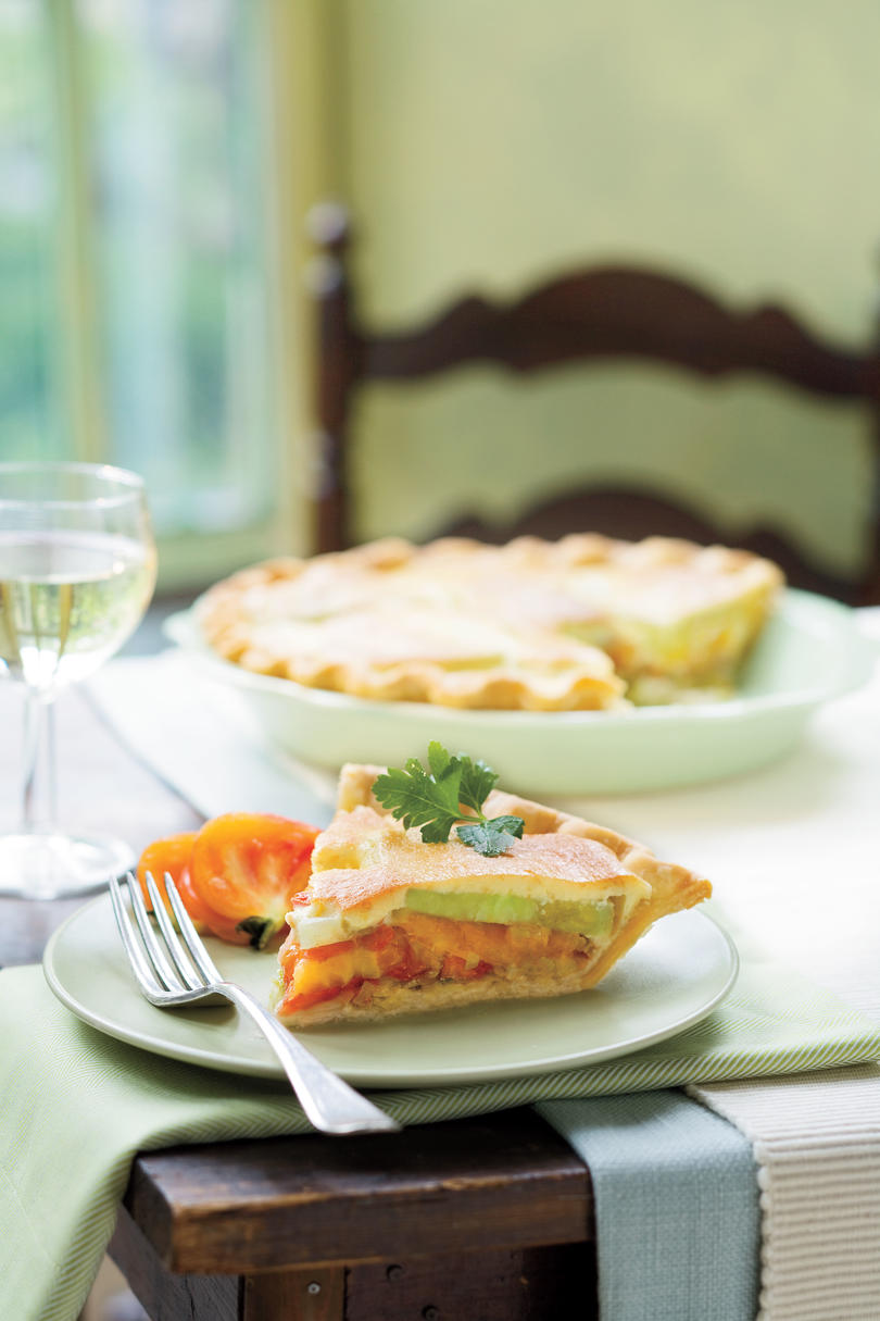 Tomato-Leek Pie Recipe