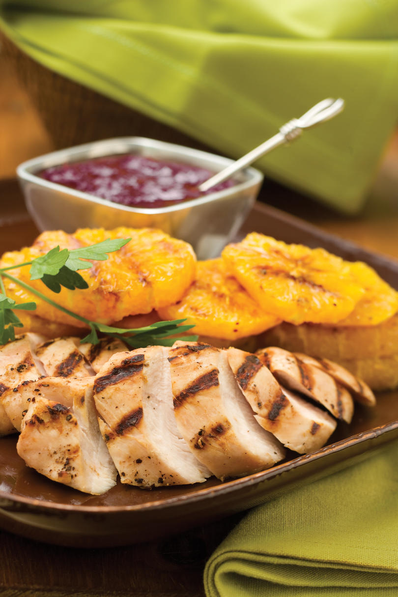 Easy Turkey Recipes: Bourbon-Cranberry Turkey Tenderloin