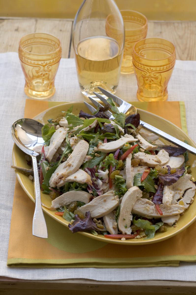 Grilled Chicken Supper With Citrus Vinaigrette