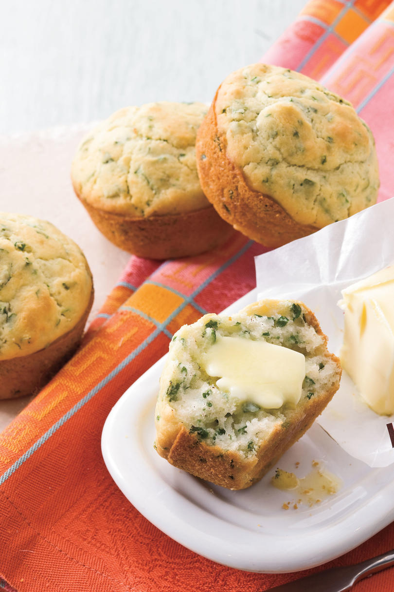 Southern Living Recipe: Fresh Herb Spoon Rolls