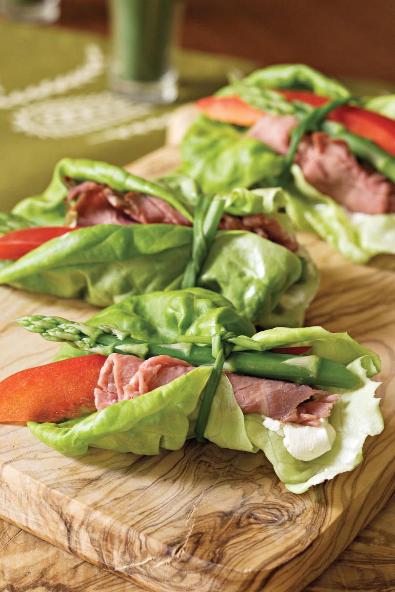 Beef and Asparagus Bundles