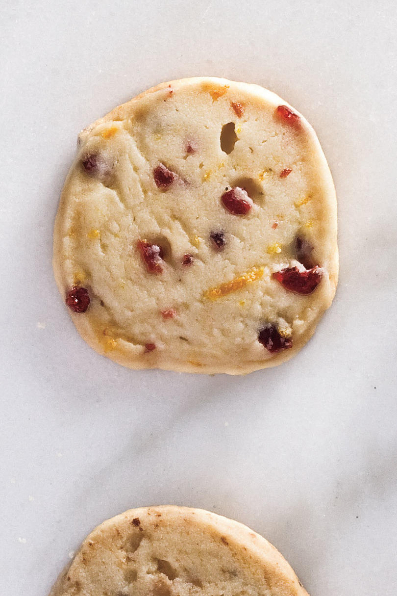 Slice-and-Bake Shortbread Cookies