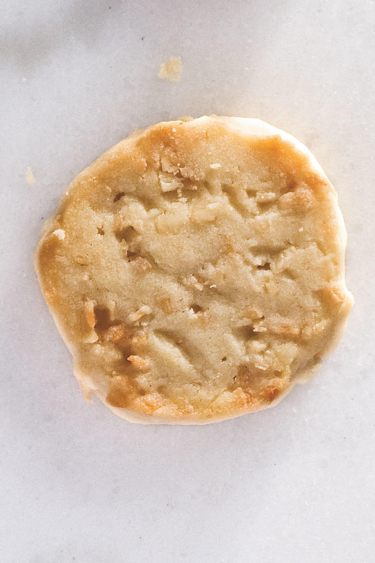 Coconut-Macadamia Nut Shortbread Cookies