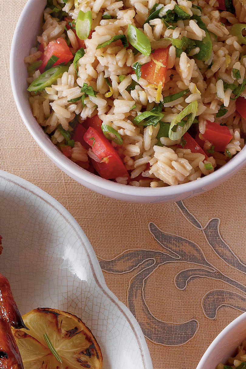 Sweet Tea Rice Tabbouleh