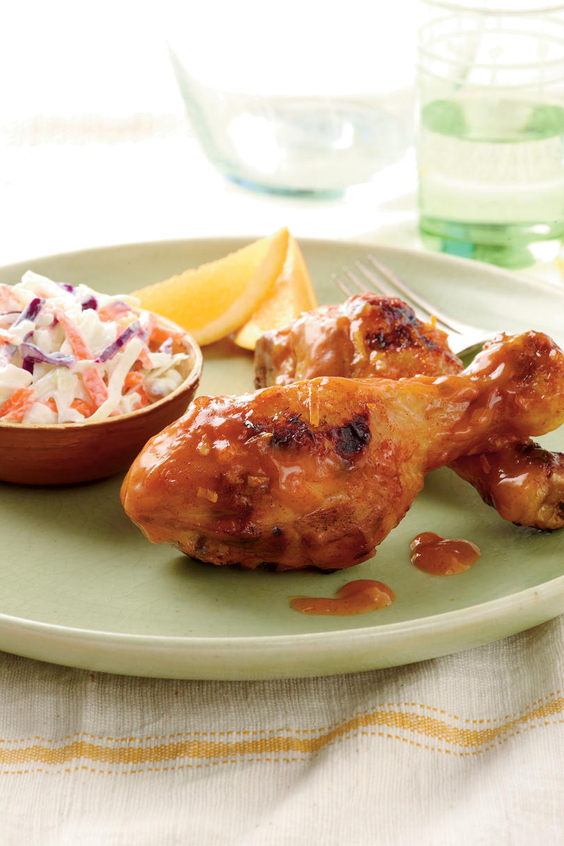 Chipotle Orange Chicken Legs