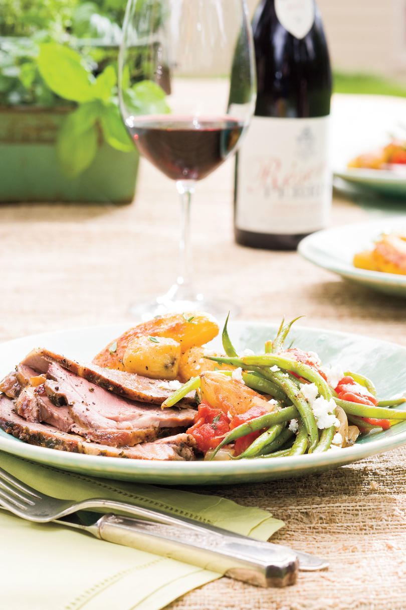 Cat Cora's Greek Easter Recipe Ideas: Roasted Boston Butt