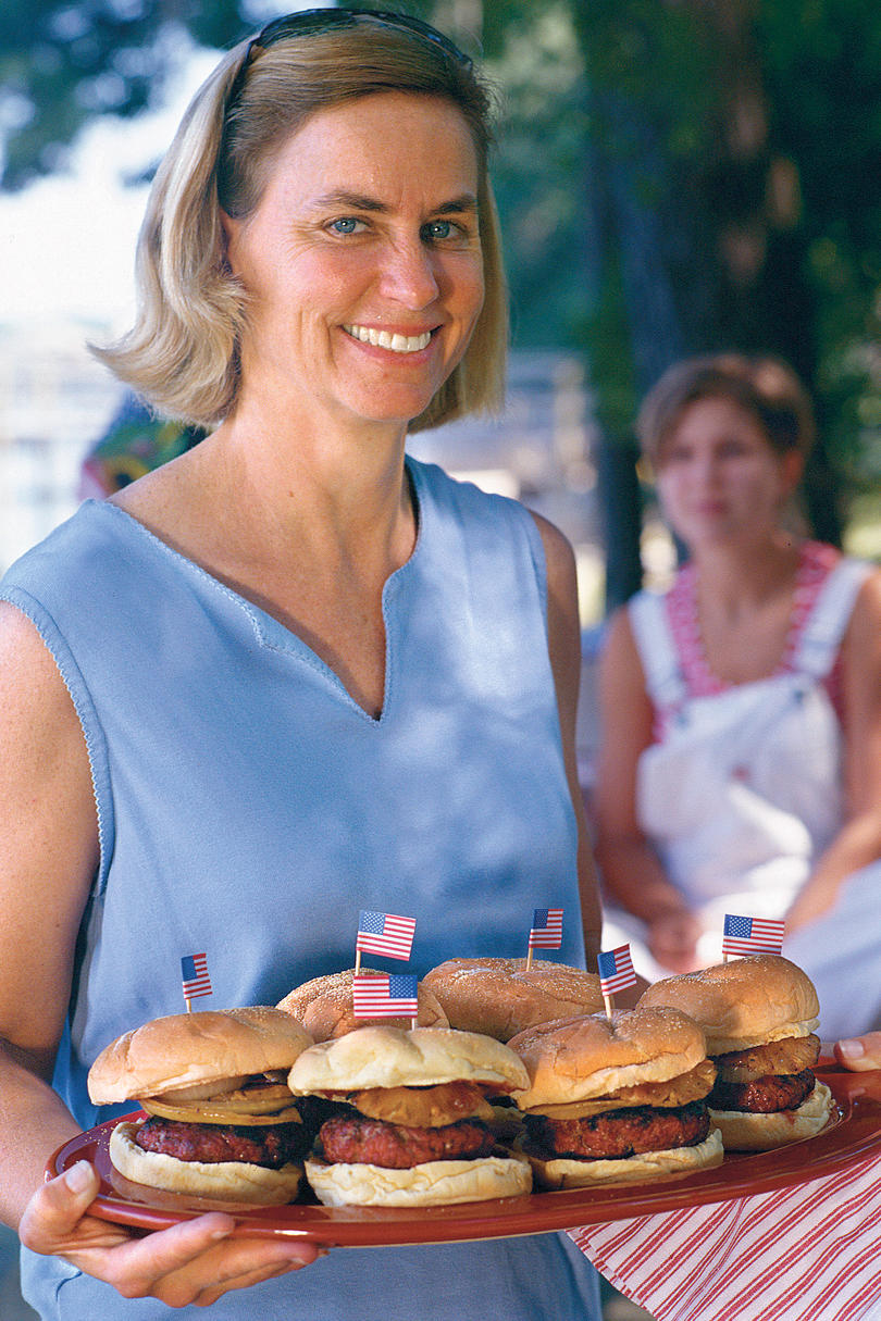 Fourth of July Recipes: Sweet-and-Savory Burgers