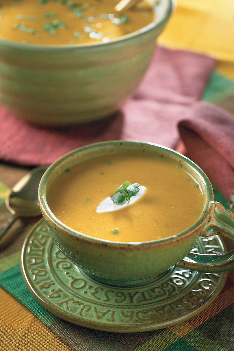 Soup Recipes: Creamy Southwestern Pumpkin Soup