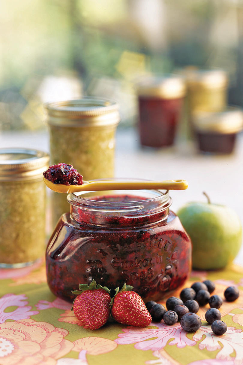Double Berry Freezer Jam