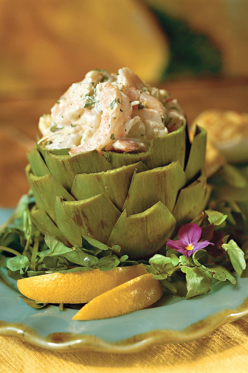 Spring Salad Recipes: Shrimp-and-Artichoke Salad
