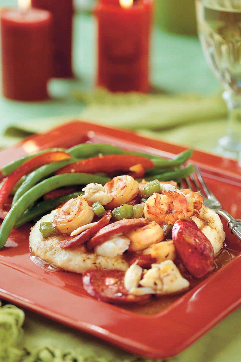 Cajun Shrimp-and-Crab Sauce