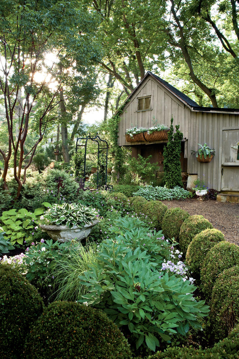 Shady Garden Design Ideas - Southern Living on landscape design ideas, evergreen shrubs for landscaping, courtyard design ideas, entrance driveway planting ideas, shrub garden ideas, evergreen landscaping ideas, full sun garden ideas, evergreen patio ideas, garden lattice ideas, evergreen privacy fence ideas, evergreen bedroom design ideas, small backyard design ideas, lavender garden ideas,
