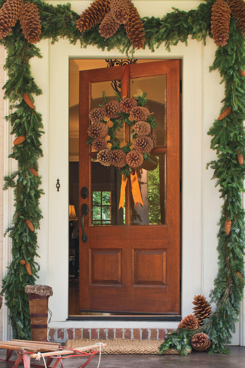 Superb 50 Christmas Wreath Ideas For Windows Doors And More Door Handles Collection Dhjemzonderlifede