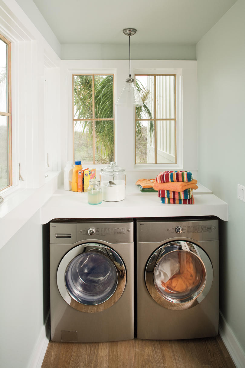 2009 Southern Living Texas Idea House Laundry Room
