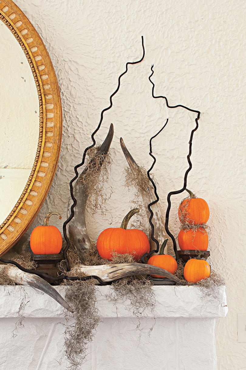 Transform Your Mantel, Halloween Style