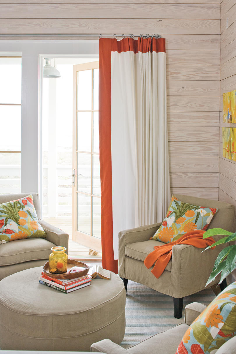 2009 Southern Living Texas Idea House Living Room Sitting Area