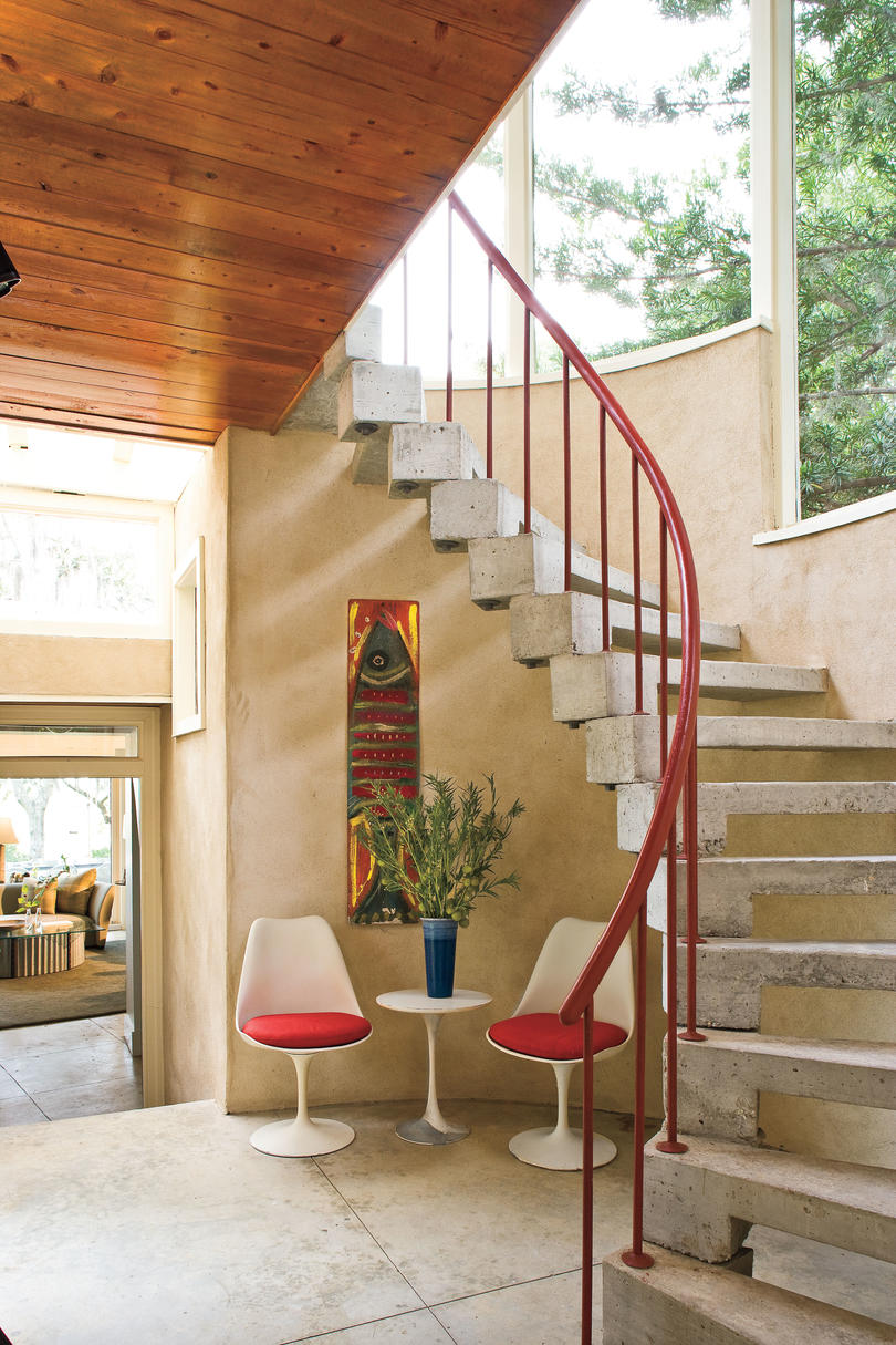 2009 southern home awards best before and after southern living quonset hut entry hall