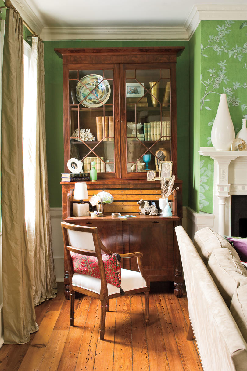 Charleston Home  Living Room Icon Accessories. Charleston Home Living Room   Southern Living